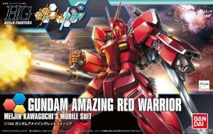 amazing red warrior box